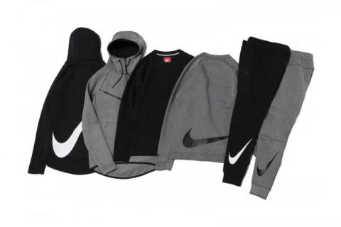 """Nike Tech Fleece lanseaza colectia """"BIG SWOOSH"""