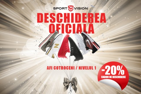 Sport Vision te asteapta si in AFI Cotroceni!