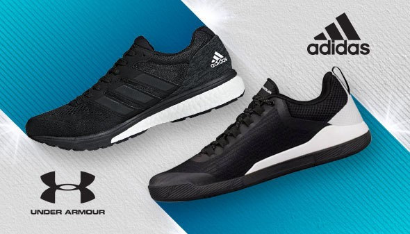 Incaltaminte Adidas si Under Armour