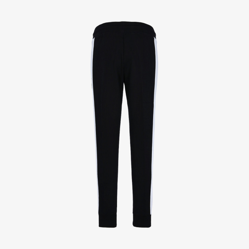 CHAMPION Pantaloni de trening LADY COLOR BLOCK RIB CUFF PANTS
