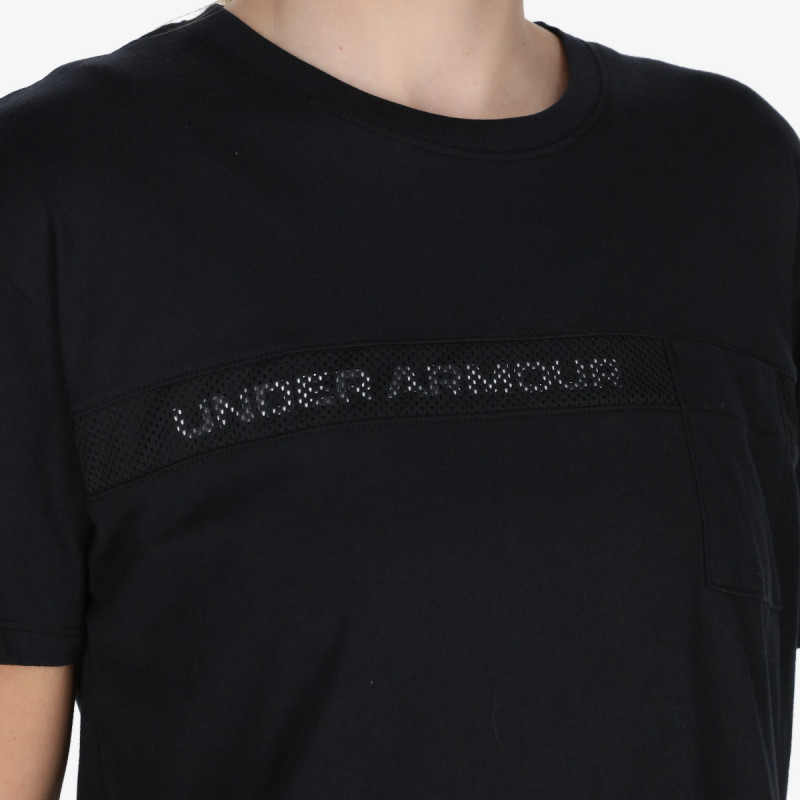 UNDER ARMOUR Tricou Live Pocket Mesh Graphic SS