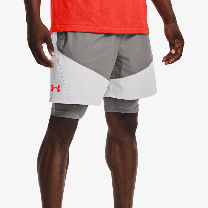 UNDER ARMOUR Pantaloni scurti UA Knit Woven Hybrid Shorts