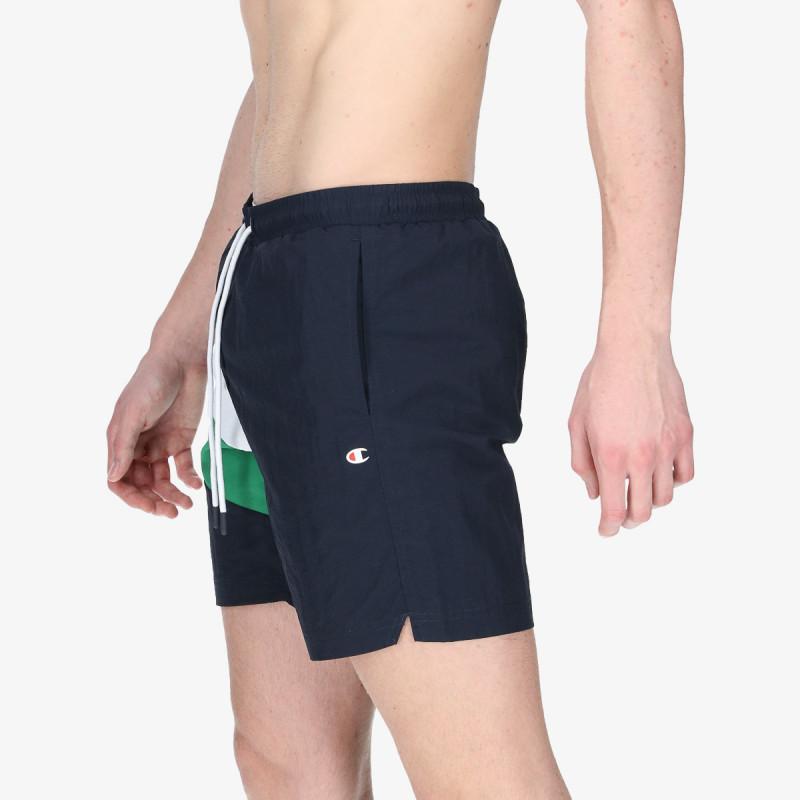 CHAMPION Pantaloni scurti RIB COLOR BLOCK SWIM SHORTS 7