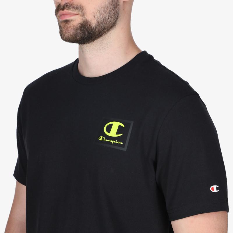 CHAMPION Tricou RUBBER LOGO T-SHIRT