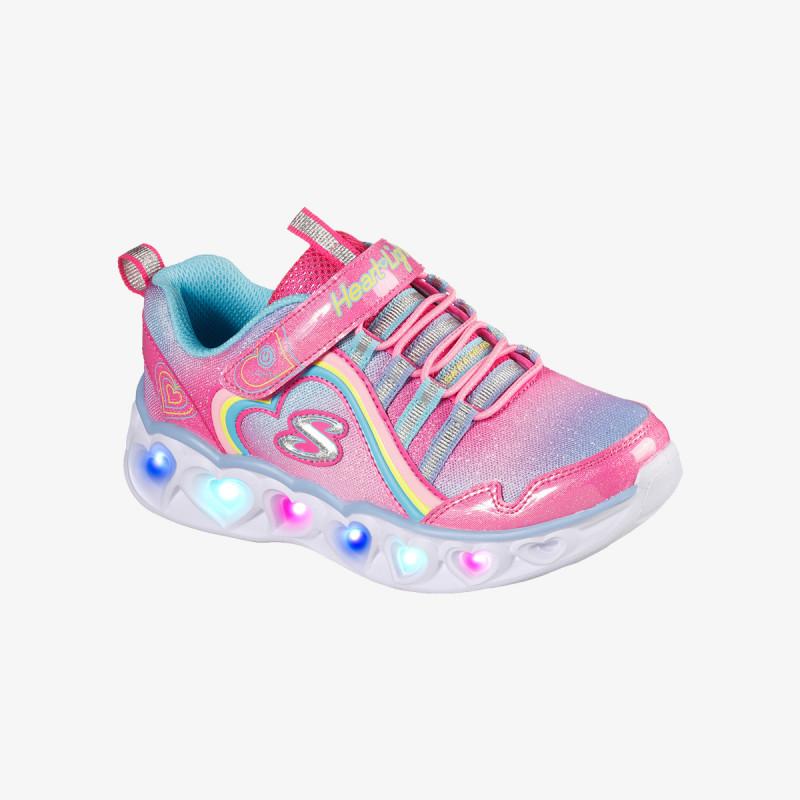 SKECHERS Pantofi sport HEART LIGHTS-RAINBOW LUX