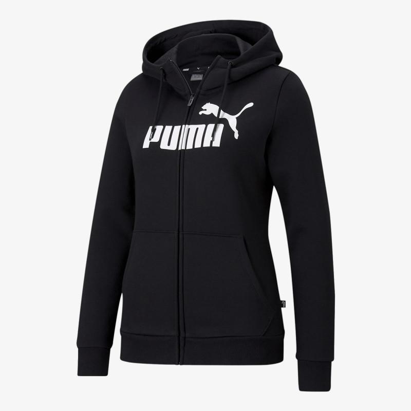 PUMA Hanorac PUMA ESS Logo Full-Zip Hoodie FL