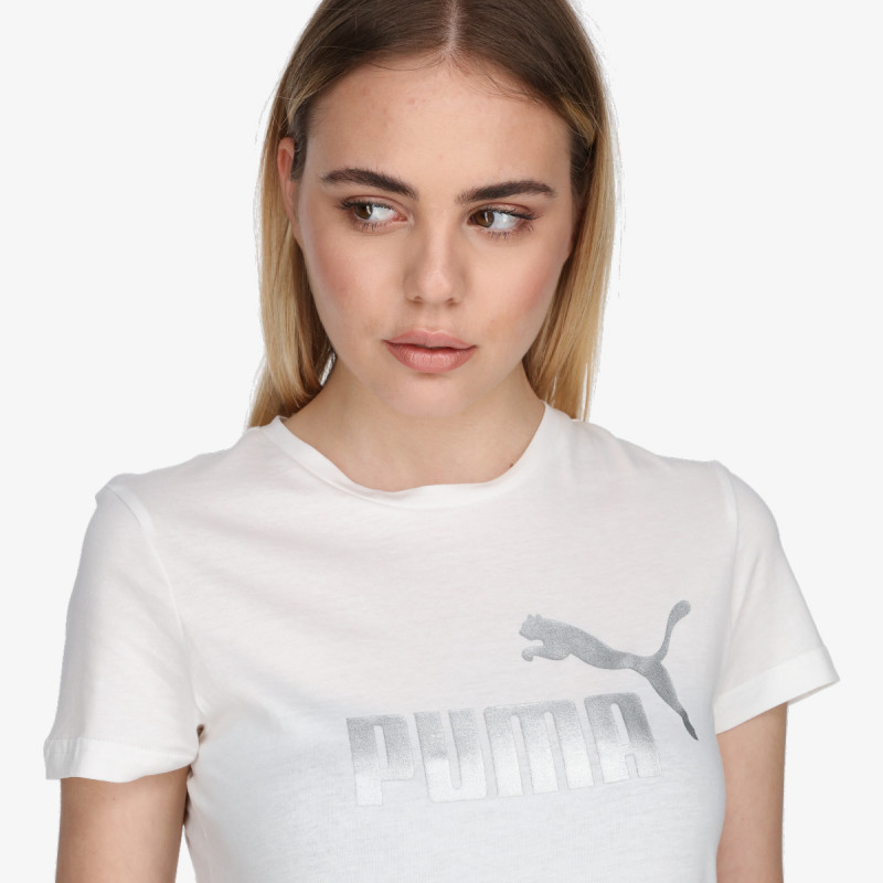 PUMA Tricou PUMA ESS+ Metallic Logo Tee