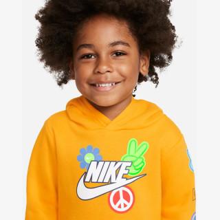 NIKE Trening NKB FLOWER CHILD PO HOODIE SET