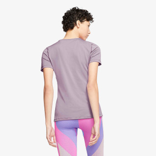 NIKE Tricou W NP TOP SS ALL OVER MESH