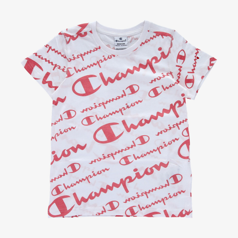 CHAMPION Tricou GIRLS ALL OVER T-SHIRT