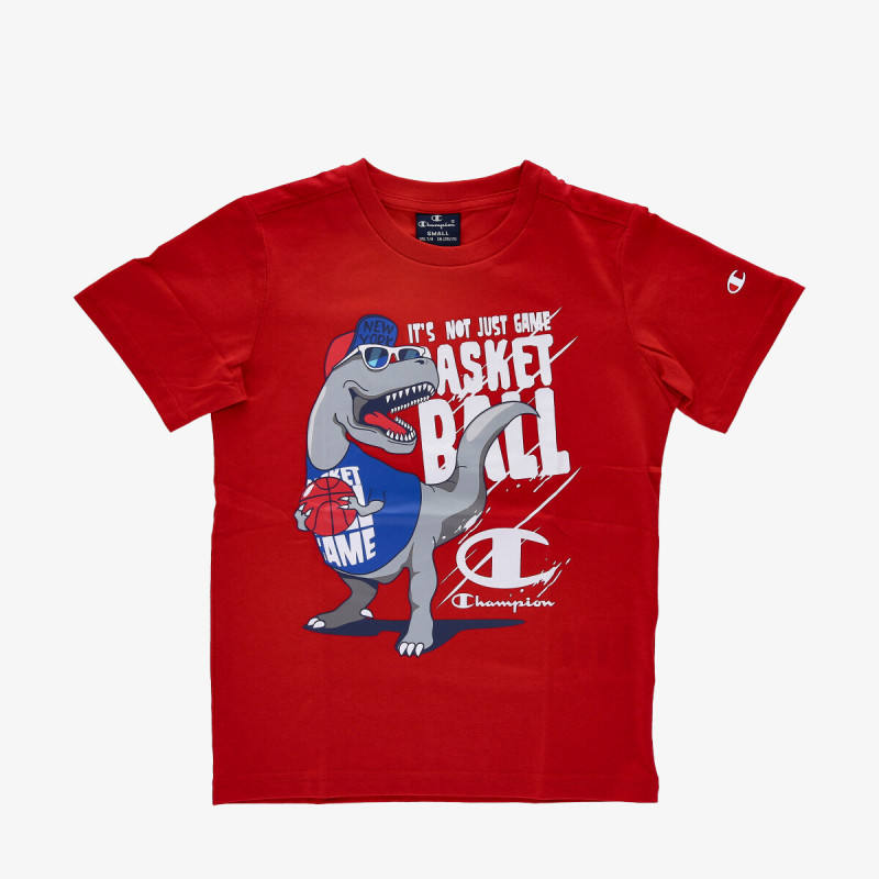 CHAMPION Tricou BOYS BALL T-SHIRT