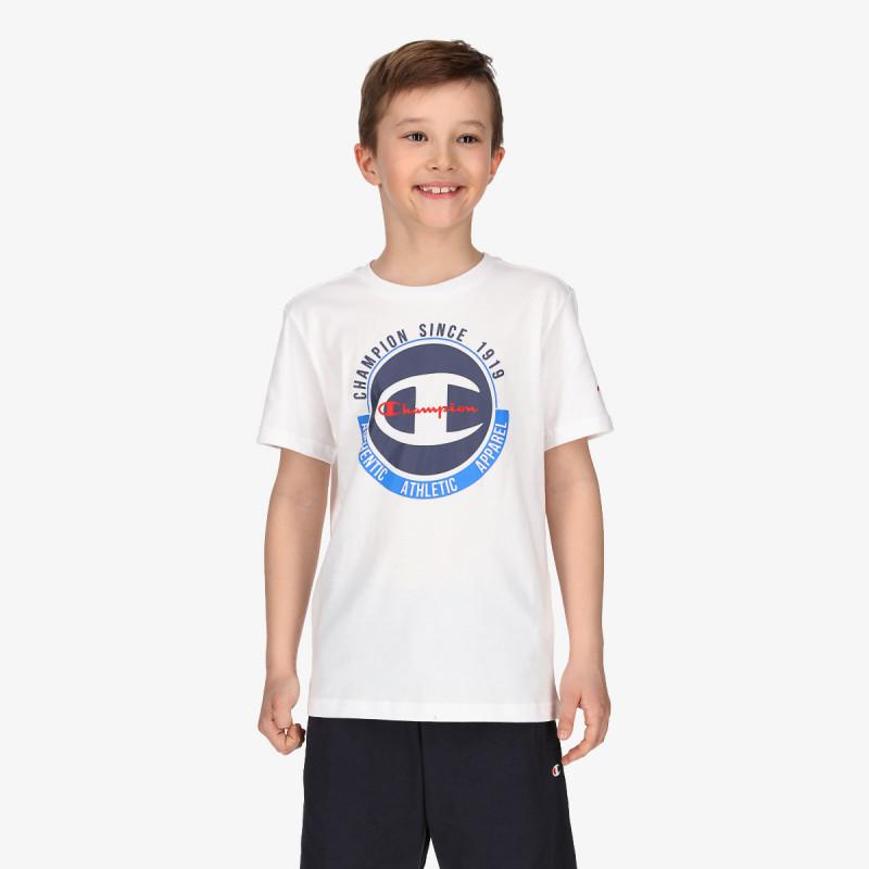 CHAMPION Tricou BOYS BIG LOGO T-SHIRT