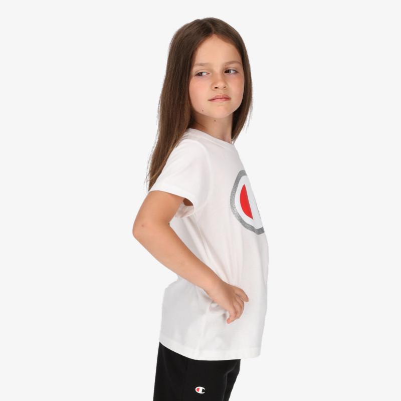 CHAMPION Tricou GIRLS ROCH T-SHIRT
