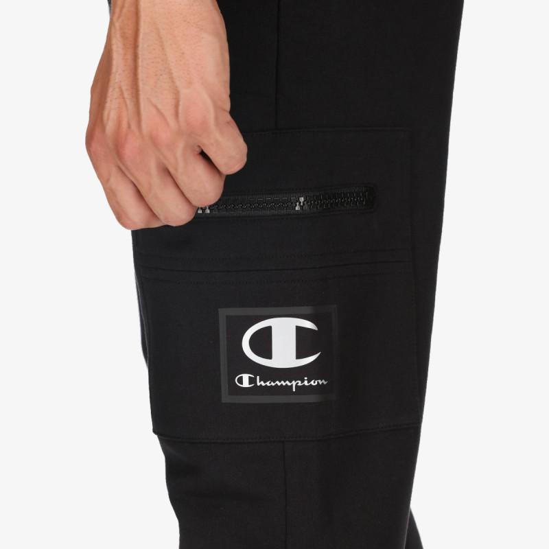CHAMPION Pantaloni de trening RUBBER LOGO CARGO PANTS
