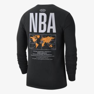 NIKE Tricou maneca lunga NBA M NK TEE CTS N31 LS