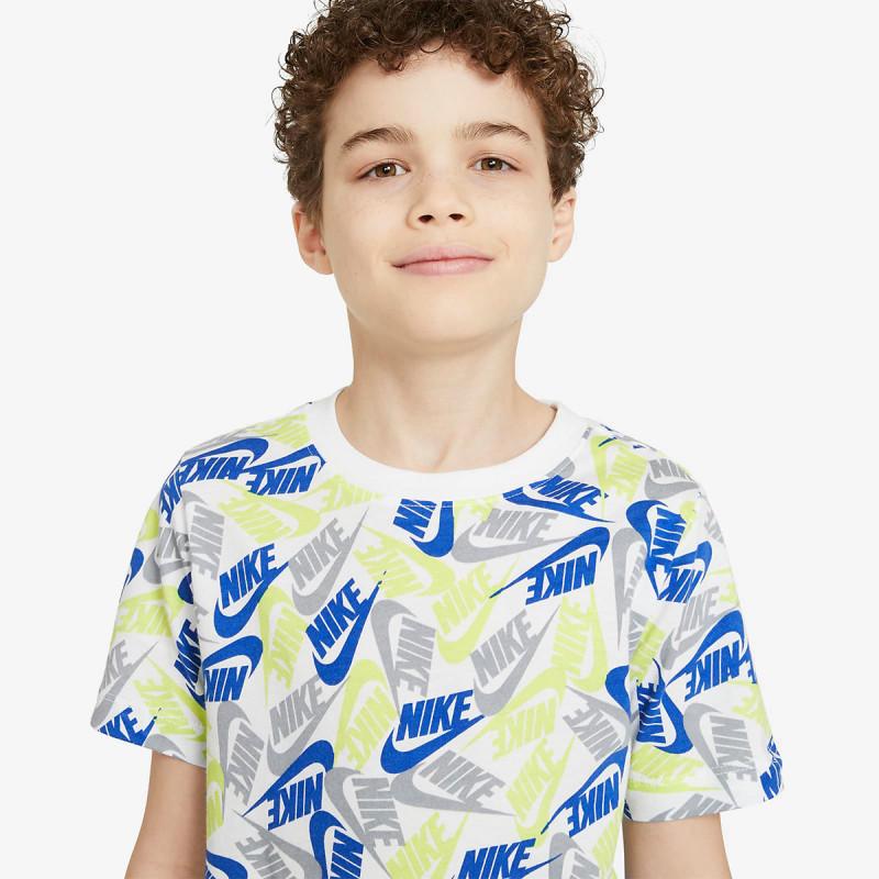 NIKE Tricou B NSW TEE FUTURA AOP