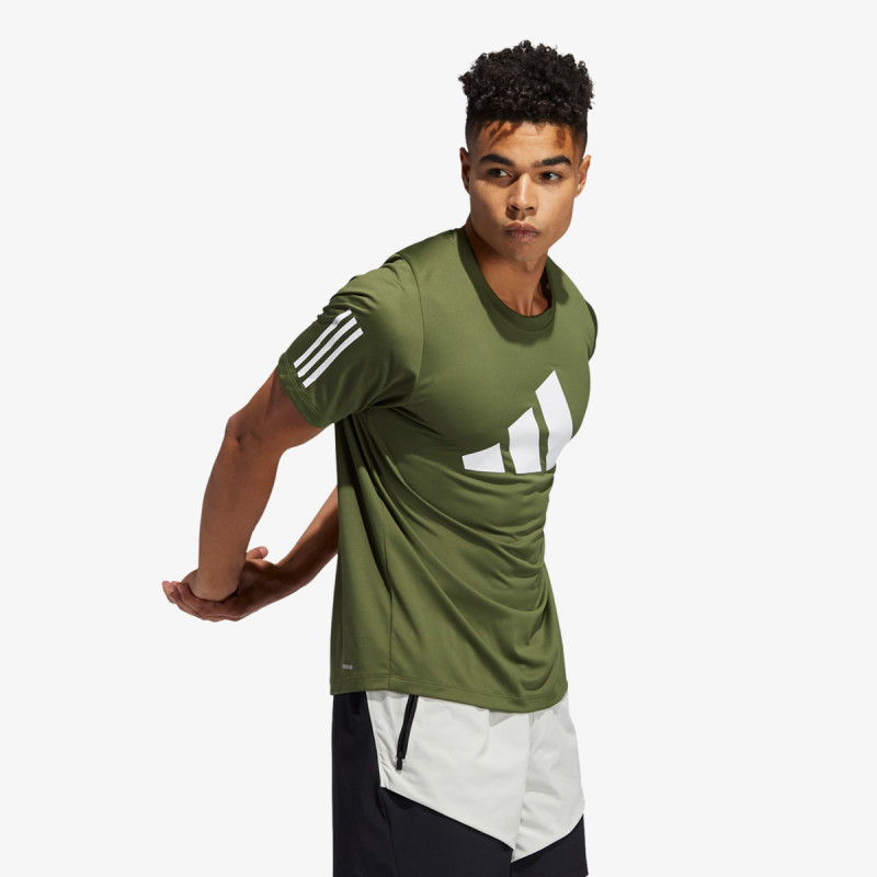 adidas Tricou FL 3 BAR TEE