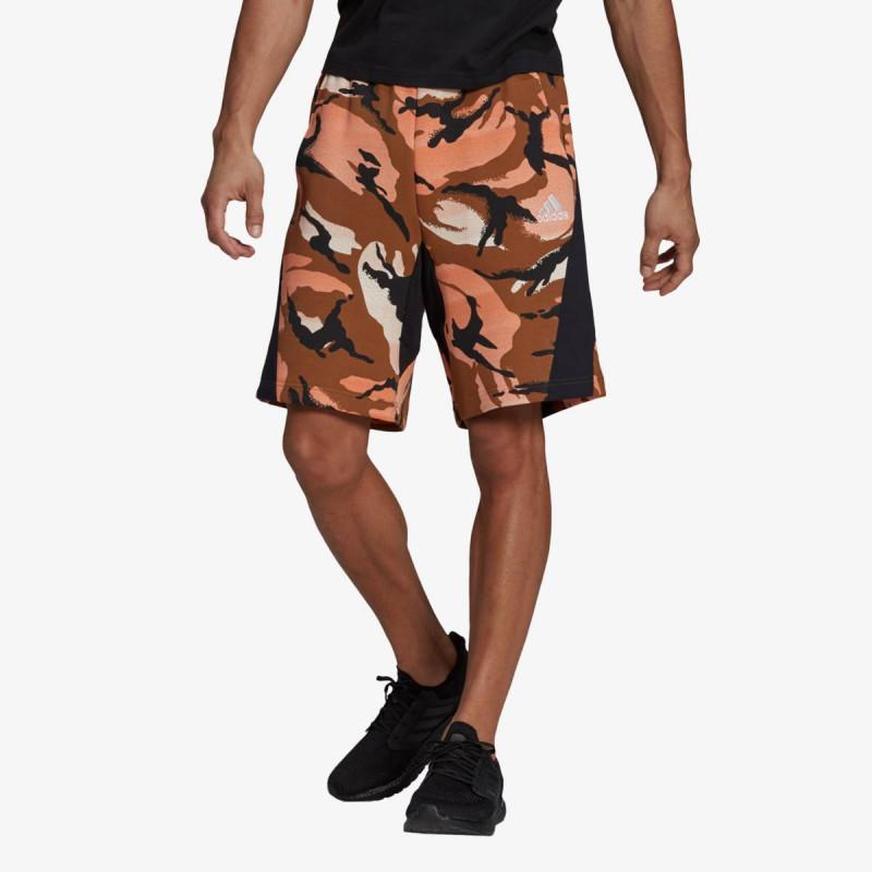 adidas Pantaloni scurti M STREET SH AOP