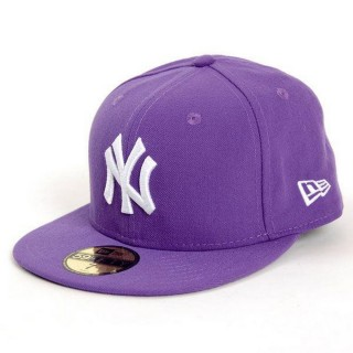 NEW ERA Sepci KAPA MLB BASIC NY PURPLE  T:7 1/2