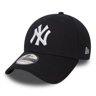NEW ERA Sepci KAPA 39THIRTY LEAGUE BASIC NY NAVY WHITE
