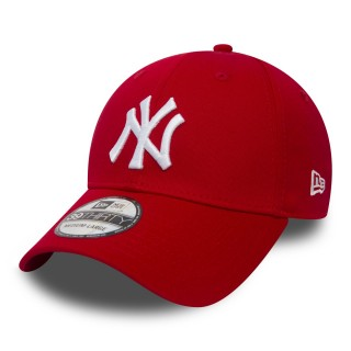 NEW ERA Sepci KAPA 39THIRTY LEAGUE BASIC NY SCARLET/WHITE