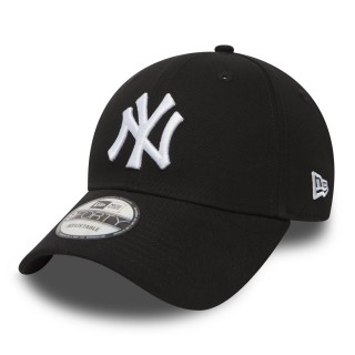 NEW ERA Sepci 9FORTY LEAGUE BASIC NY BLACK/WHITE