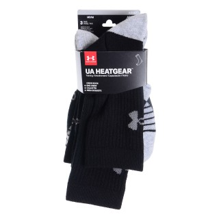 UNDER ARMOUR Sosete HEATGEAR TECH CREW 3PK