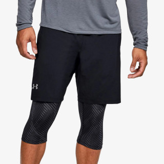 UNDER ARMOUR PANTALONI SCURTI M UA Launch SW Long 2-in-1 Printed Short