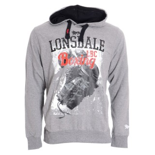 LONSDALE Hanorace LONSDALE HOODY WITH KANGAROO POCKETS