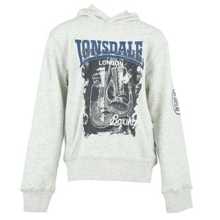 LONSDALE Hanorace LONSDALE GLOVE S19 HOODY B