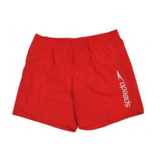 SPEEDO Shorturi inot SCOPE 16 WSHT AM RED/WHITE
