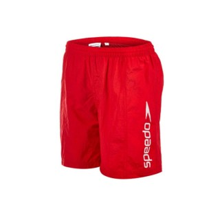 SPEEDO Shorturi inot CHALLENGE 15 WSHT JM RED/WHITE