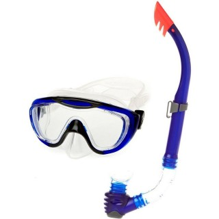 SPEEDO Seturi inot GLIDE MASK SNORKEL SET AU GREY/BLUE