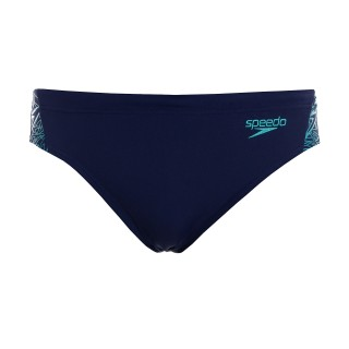 SPEEDO Slipuri BOOM SPL 7CM BRF AM NAVY/GREEN