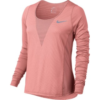 NIKE Tricouri maneca lunga W NK ZNL CL RELAY TOP LS
