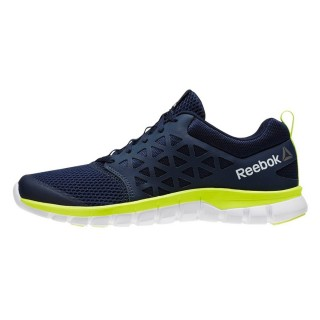 REEBOK Pantofi sport SUBLITE XT CUSHION NAVY/YELLOW/WHT/PWTR