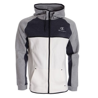 CHAMPION Hanorace cu fermoar TECH C BLOCK FULL ZIP HOODY