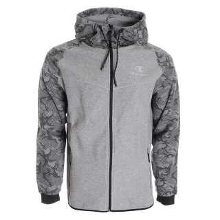 CHAMPION Hanorace cu fermoar TECH H CAMO FULL ZIP HOODY