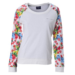 CHAMPION Hanorace FLOWER CREW NECK