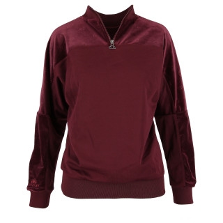 ELLESSE Hanorac LADIES VELVET CREWNECK