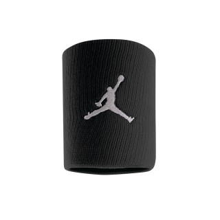 NIKE Benzi incheietura JORDAN JUMPMAN WRISTBANDS BLACK/WHITE