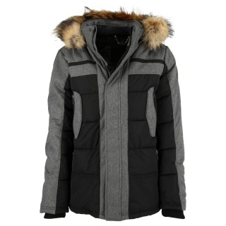 LUSSARI Jachete LUSSARI MEN JACKET WITH FUR