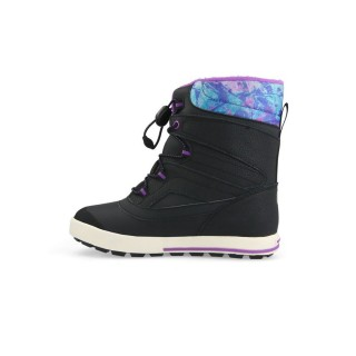 MERRELL Ghete GIRLS SNOW BANK 2.0 WTRPF BLACK/PRINT/BERRY