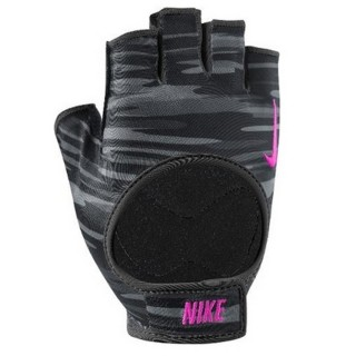 NIKE Manusi antrenament NIKE WOMEN S FIT TRAINING GLOVES S ANTHRACITE/BLACK/HYPER PINK