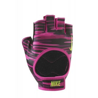 NIKE Manusi antrenament NIKE WOMEN S FIT TRAINING GLOVES M VIVID PINK/BLACK/VOLT