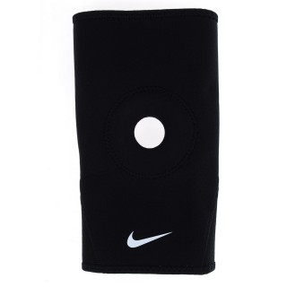 NIKE Genunchiere NIKE PRO OPEN-PATELLA KNEE SLEEVE 2.0 BLACK/WHITE