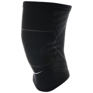NIKE Genunchiere NIKE ADVANTAGE KNITTED KNEE SLEEVE M BLACK/ANTHRACITE/WHITE