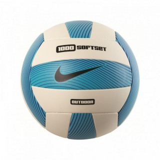 NIKE Mingi NIKE 1000 SOFTSET OUTDOOR VOLLEYBALL DEFLATED GAMMA BLUE/WHITE/HYPER COBALT/BLACK