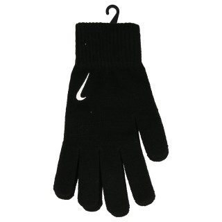NIKE Manusi NIKE SWOOSH KNIT GLOVES L/XL BLACK/WHITE