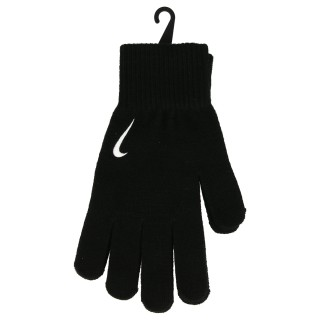NIKE Manusi NIKE SWOOSH KNIT GLOVES S/M BLACK/WHITE